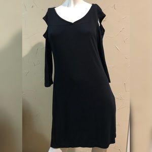 Love Scarlett Black Open Shoulder Dress Medium